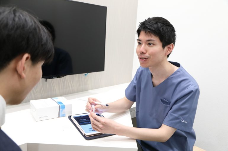 矯正治療中にホワイトニングが受けられるHANA Intelligence 歯科•矯正歯科